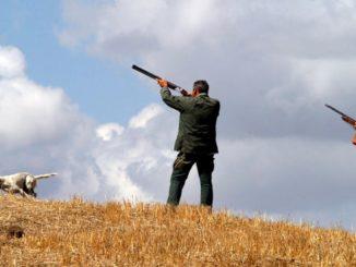 Una scena di caccia nella campagna romana