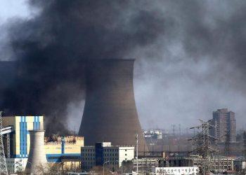 Incidente in una inquinante centrale a carbone a Pechino, in Cina
