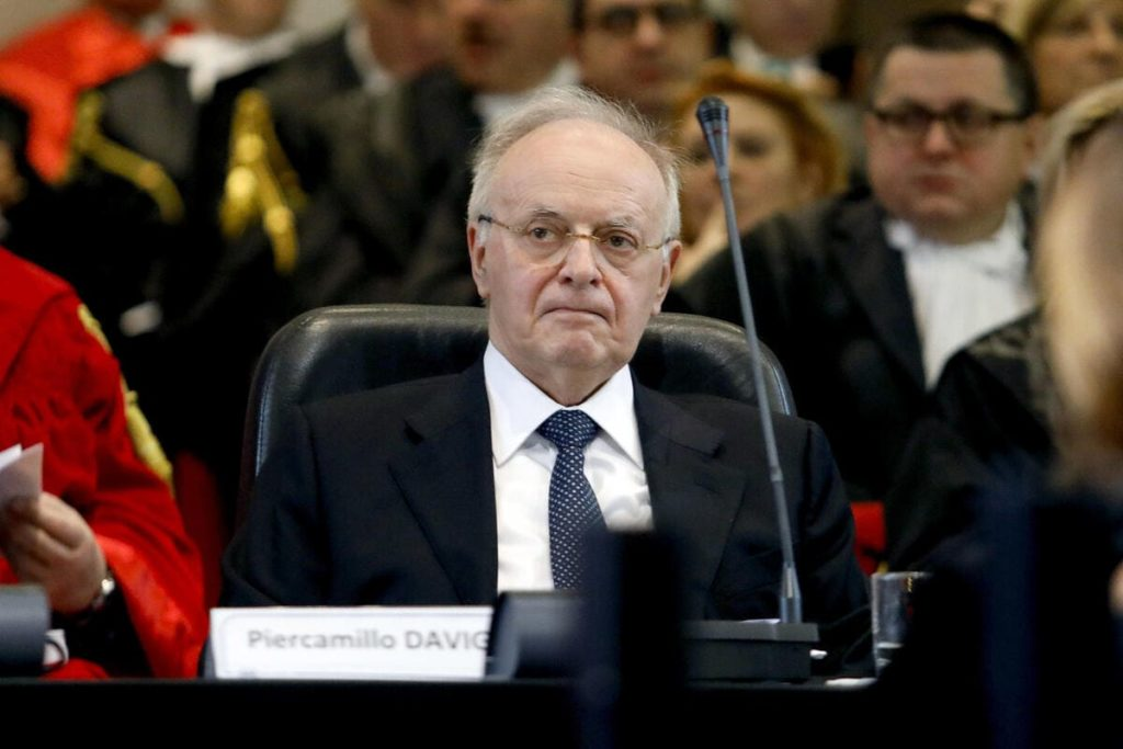 Il giudice Piercamillo Davigo
