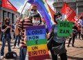 ddl Zan, manifestazione a Milano per approvare la legge (8 maggio 2021)