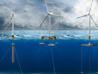 Un impianto di pale eoliche offshore, tra le energie rinnovabili su cui punta il governo