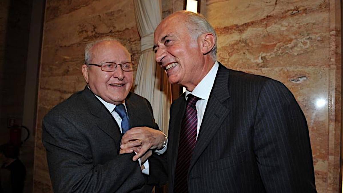 Ettore Bernabei e Pippo Corigliano