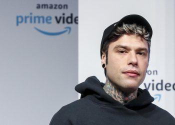 Fedez durante la presentazione delle novità 2020 di Amazon Prime Video