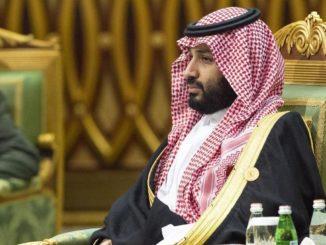 Il principe ereditario dell'Arabia Saudita, Mohammed bin Salman (Mbs)
