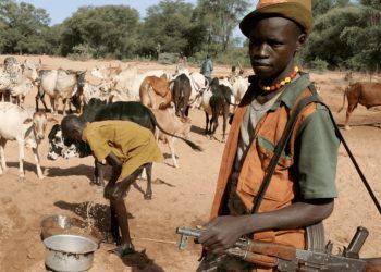 Pastori Fulani in Nigeria