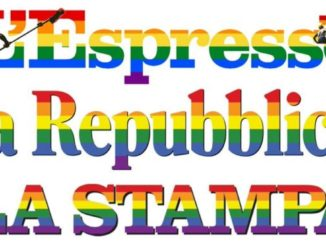 Giornata omofobia: stampa, Espresso, repubblica arcobaleno