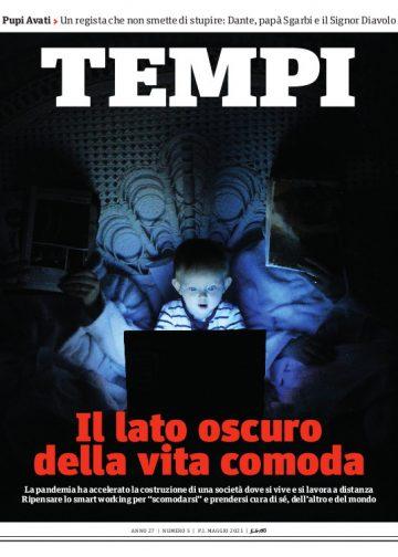 La copertina del numero di maggio 2021 di Tempi