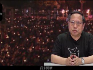 Il video registrato prima dell'arresto a Hong Kong da Albert Ho su Piazza Tienanmen