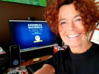 Una foto del sindaco di Crema Stefania Bonaldi presa dal suo profilo Facebook