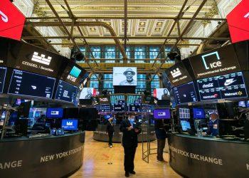 L'interno della Borsa di New York