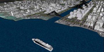 Il rendering dell'ultimo progetto di Erdogan in Turchia, il Canale Istanbul