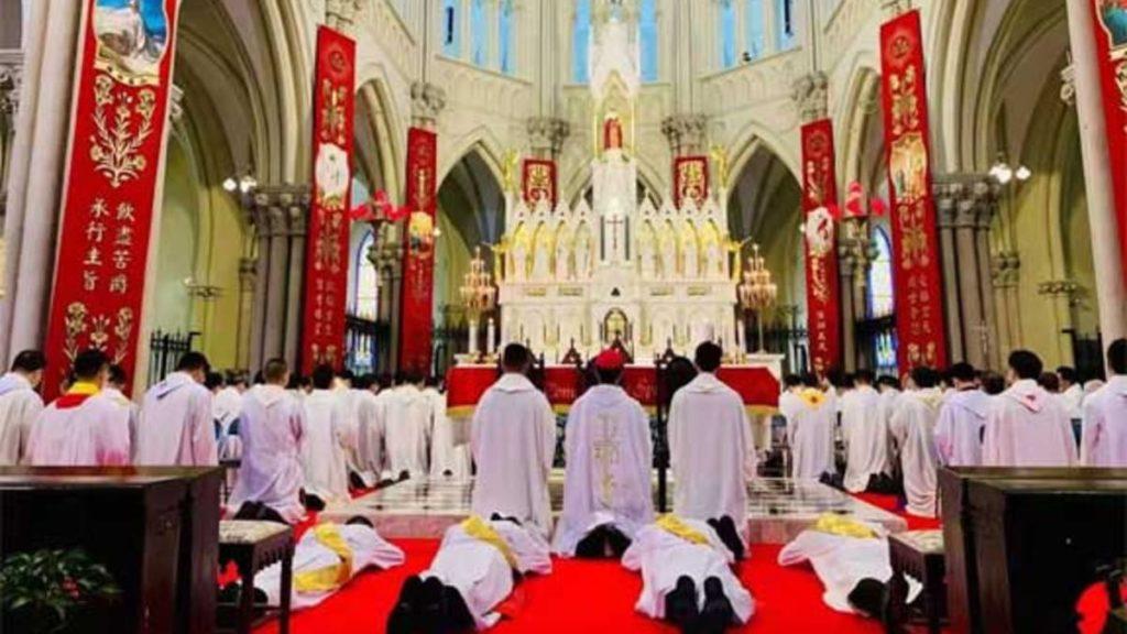 Ordinazione sacerdotale a Shanghai, in Cina