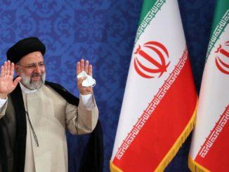 Il nuovo presidente dell'Iran, Ebrahim Raisi