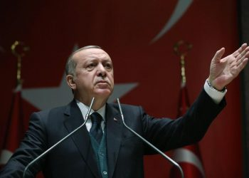 Il presidente turco, Recep Tayyip Erdogan