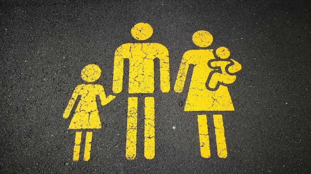 Parcheggio riservato alle famiglie con figli