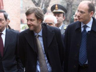 Mario Draghi, Filippo Andreatta, Enrico Letta