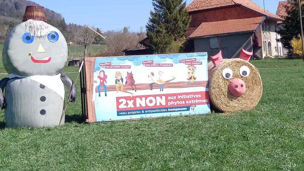 """Iniziativa della campagna referendaria favorevole al """"no"""" in Svizzera ai quesiti su clima e ambiente"""