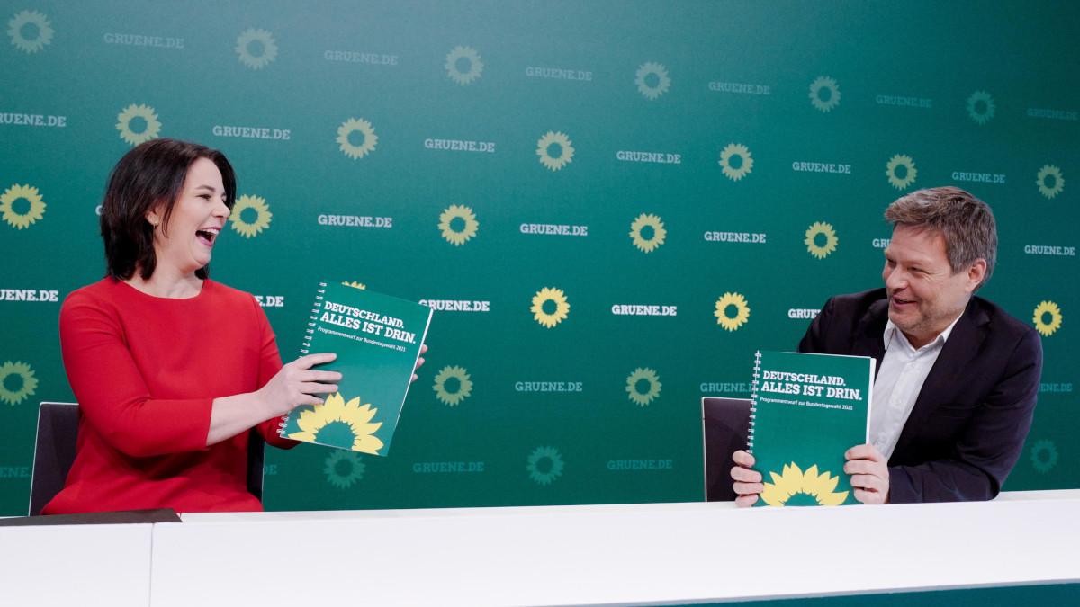Annalena Baerbock e Robert Habeck dei Verdi tedeschi