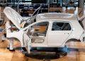 Fabbrica di auto della Volkswagen in Germania