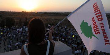 Protesta contro la visita di Erdogan a Cipro