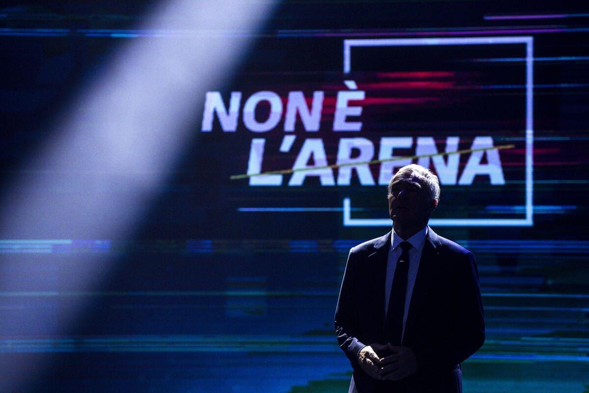 Massimo Guletti, conduttore della trasmissione Non è l'arena