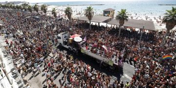 Israele, la Tel Aviv Pride Parade del 25 giugno