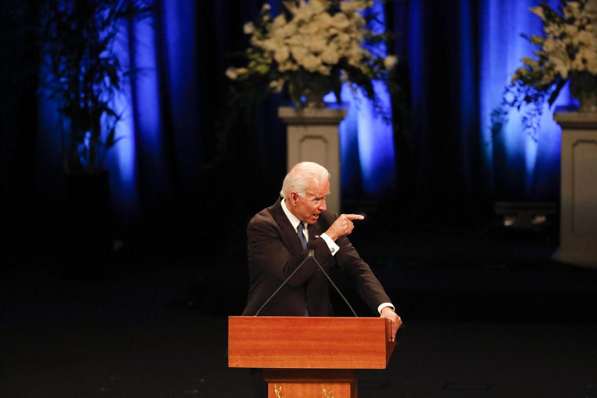 Joe Biden in chiesa