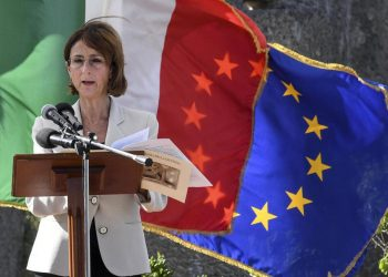Il ministro della Giustizia Marta Cartabia