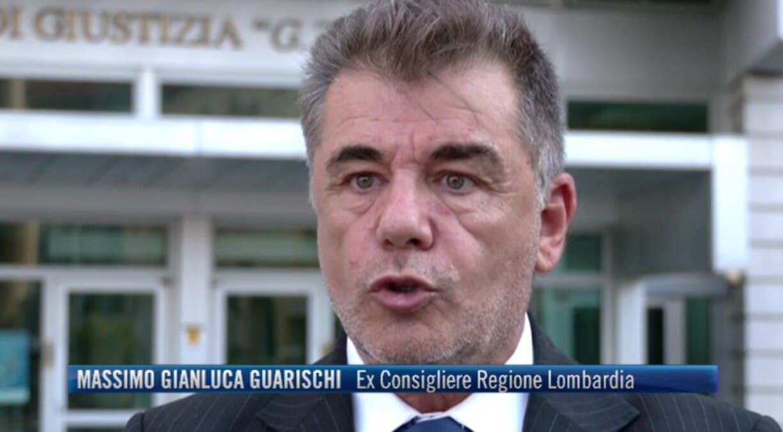 L'ex consigliere lombardo Massimo Gianluca Guarischi al Tg4