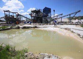 Un'immagine di Bikita, la più grande miniera di litio dello Zimbabwe.