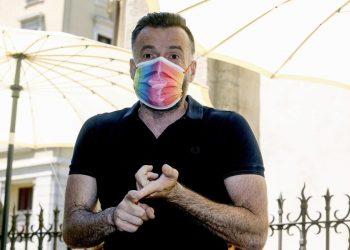 """Il deputato Alessandro Zan all'evento """"La Cura"""" organizzato dal Pd milanese in occasione della Pride week"""
