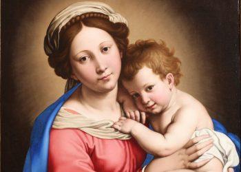 Madonna col Bambino di Giovanni Battista Salvi (1609-1685), detto il Sassoferrato