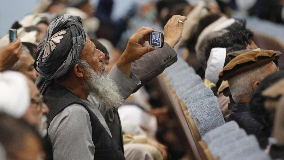 Smartphone utilizzati in Afghanistan