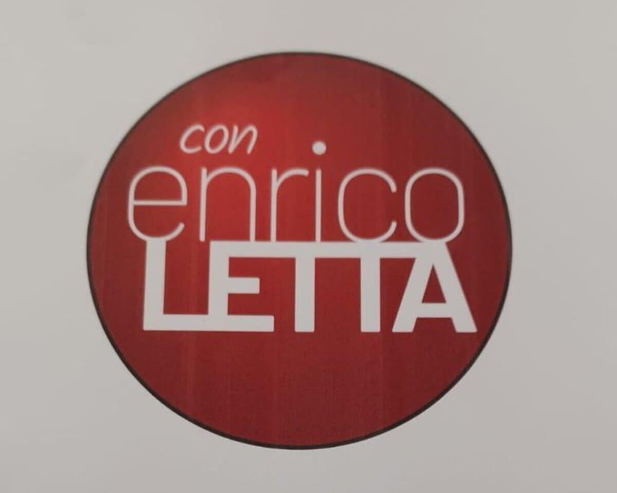 Enrico Letta, logo Siena