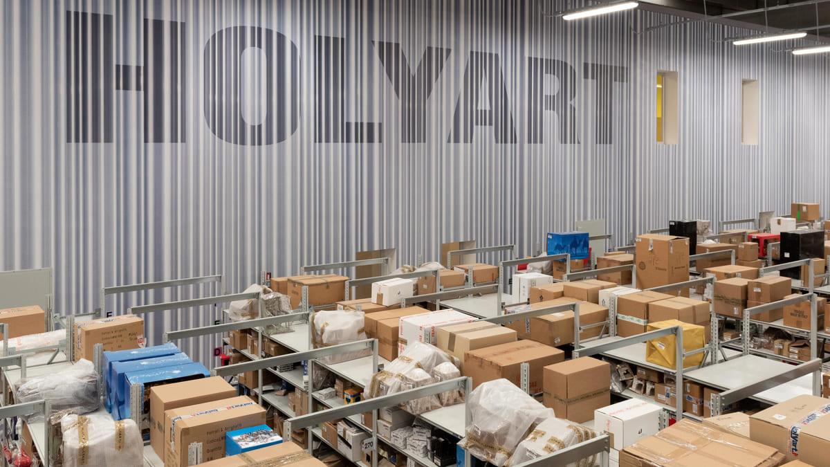 Il magazzino di Holyart