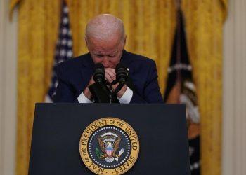 Joe Biden parla al popolo americano dopo l'attentato di Kabul in Afghanistan