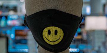 Mascherina con smile