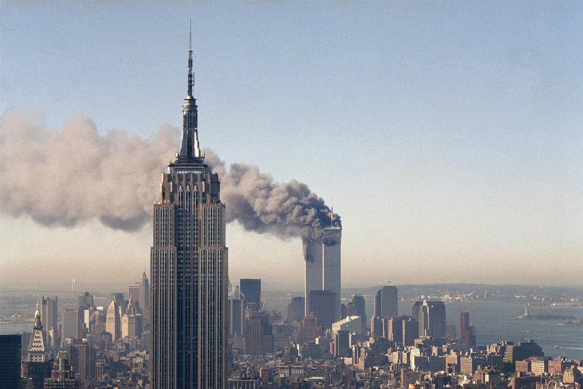 Le torri Gemelle di New York l'11 settembre 2001