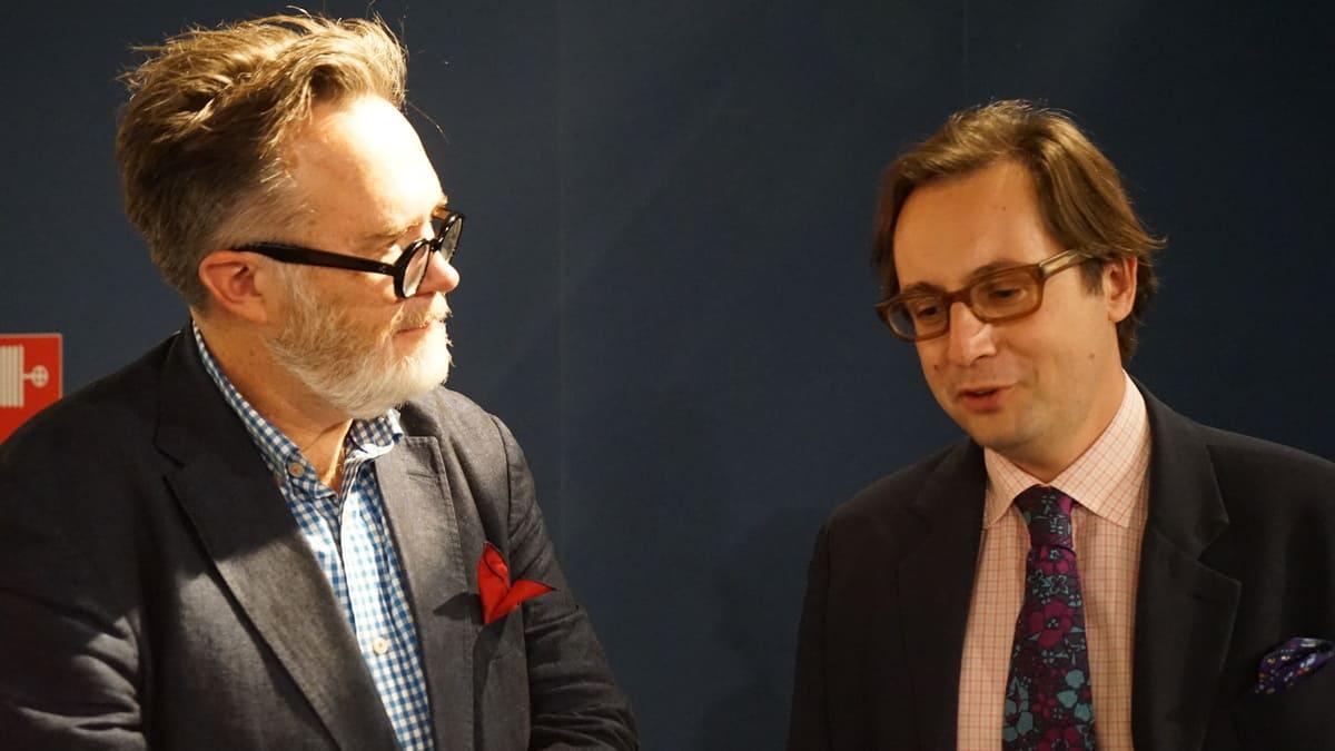 Lo scrittore americano Rod Dreher e il direttore dell'IBL, Alberto Mingardi