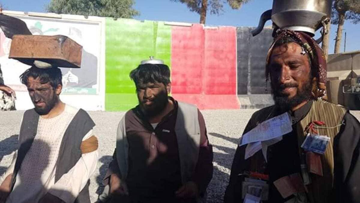 Ladri puniti dai talebani secondo la sharia in Afghanistan