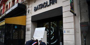 La commemorazione dell'anno scorso della strage del 13 novembre 2015 al Bataclan