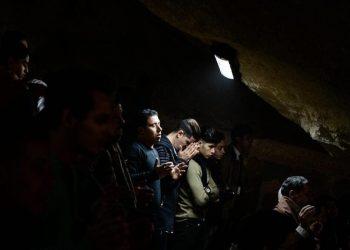 Cristiani in preghiera in Egitto