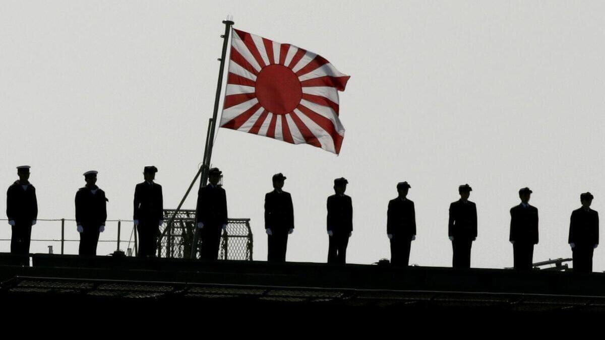 Passaggio in rivista della Marina del Giappone