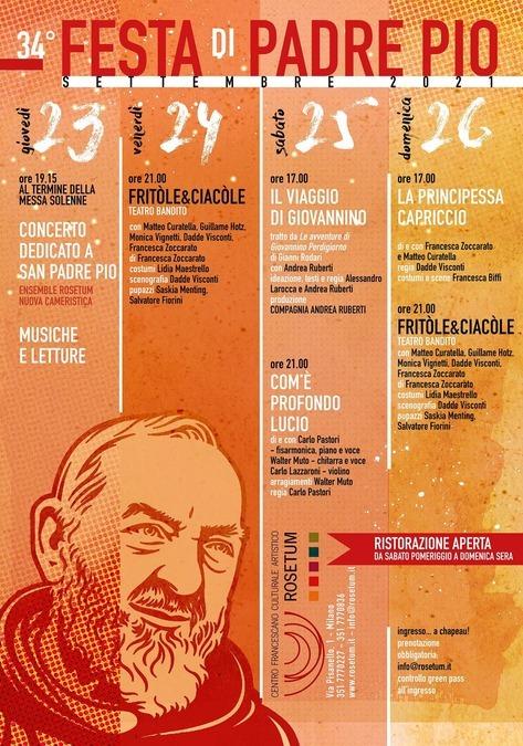 Rosetum, Padre Pio