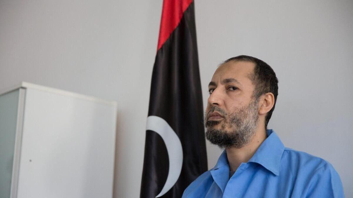 Saadi Gheddafi in Libia prima della liberazione