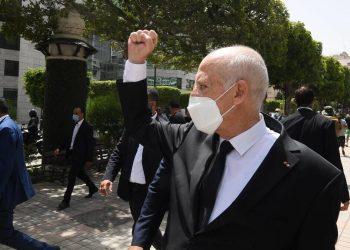 Il presidente golpista della Tunisia, Kais Saied
