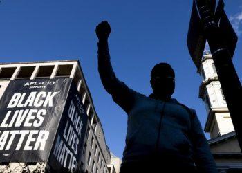 Una protesta di Black Lives Matter negli Usa