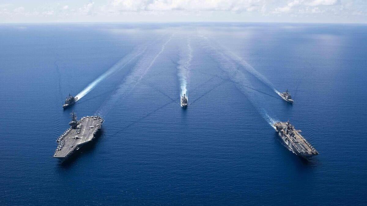 Operazioni della Marina Usa nel Mar cinese meridionale
