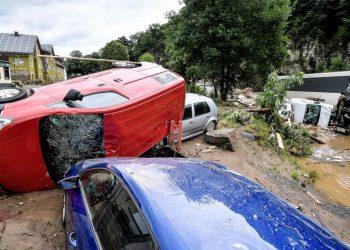 Danni dell'alluvione in Germania