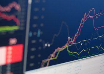 Andamento di titoli azionari in Borsa